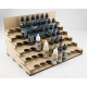 Tiered Unit for 17ml Bottles