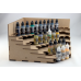 Corner Tiered Unit for 17ml Dropper Bottles