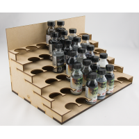 Tiered Unit for 33mm Bottles
