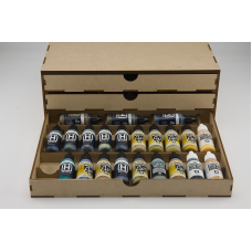 Three 17ml Drawer Unit