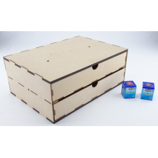 Two Drawer Unit for Revell Acrylics